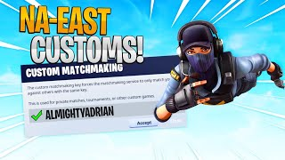 🔴(NA EAST) PRO CUSTOM MATCHMAKING SCRIMS SOLODUOTRIOSSQUADS FORTNITE LIVEPS4,XBOX,PC