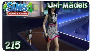 Drolliger Familienzuwachs #215 Die Sims 4: Uni Mädels Hunde & Katzen - Let's Play