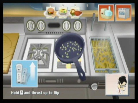 order up wii- how to impress the food critic