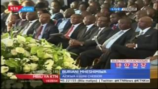 Naibu rais William Ruto ahudhuria buriani ya mheshimiwa Nicholas Biwott kijijini Cheboir