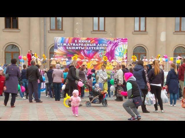 Ангарчане отметили День защиты детей
