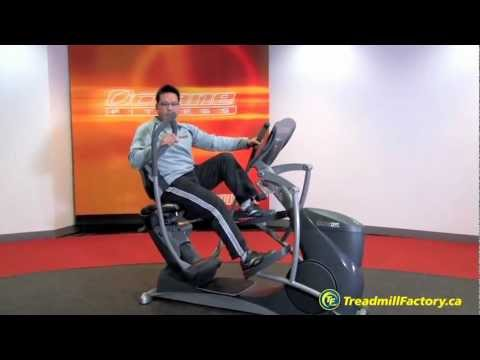 Octane Fitness xRide xR6 Seated Elliptical - The Treadmill Factory Canada