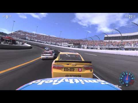 Good news: improved visuals with Sweet FX!!! :: NASCAR Heat