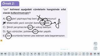 Eğitim Vadisi TYT Türkçe 16.Föy Sıfatlar - 1 Konu Anlatım Videoları