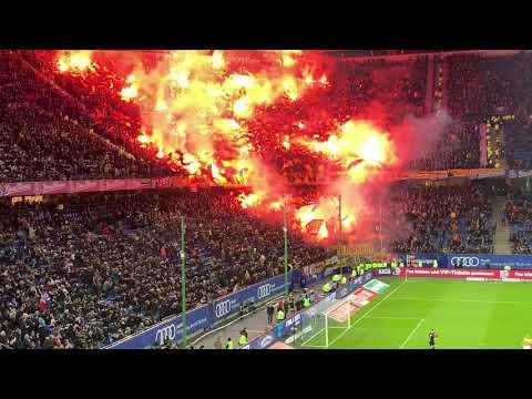 Hamburger SV vs Dynamo Dresden 11.02.2019