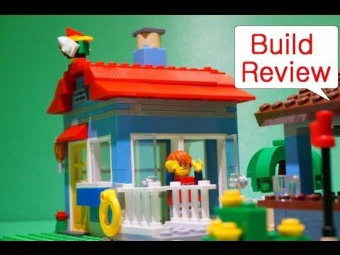Vidéo LEGO Creator 7346 : La maison de la plage