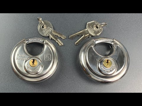 LockPickingLawyer picks Public Storages upgraded disc padlock and compares it to the old one