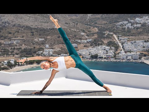 Total Body Yoga Workout   Power Yoga Class: Reconnect - YouTube