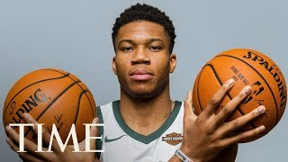 Giannis Antetokounmpo On Leading By Example On The Court & At Home   Next Generation Leaders   TIME