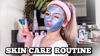 DIY Facial At Home! | NIGHTTIME SKINCARE ROUTINE | Coco Quinn
