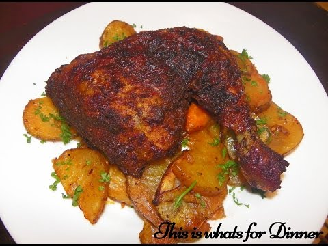 Alton Brown Smoked Paprika Chicken - Altons BTIEM Chicken Recipe - Best thing I ever made