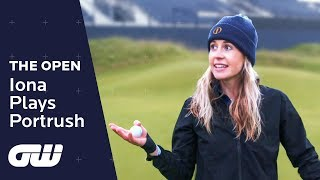 Iona plays Royal Portrush in the run up to The Open!