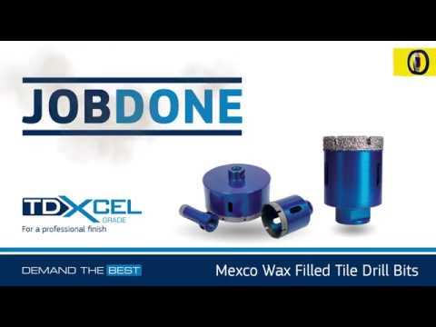 Mexco TDXCEL Vacuum Brazed Diamond Drill Bit