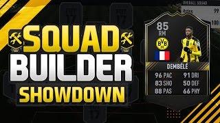 FIFA 17 SQUAD BUILDER SHOWDOWN 🔥🌟 F8TAL DEMBELE CHALLENGE