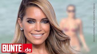 Sylvie Meis - Top trainiert: Die Moderatorin wird zur Badenixe