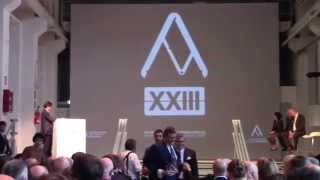 IFI - XXIII Compasso D'Oro ADI - Bellevue Panorama - Milan 28.05.2014 All videos