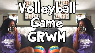 Volleyball Game GRWM ⎮Volleyball Game Vlog