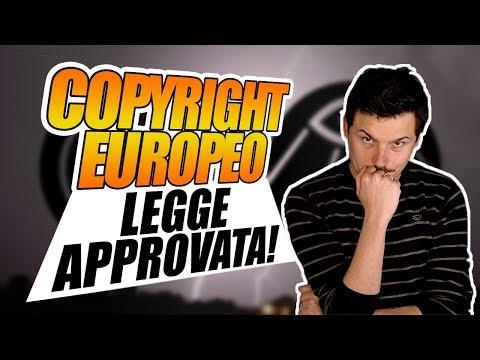 Copyright Europeo, legge approvata! ...E Ora?
