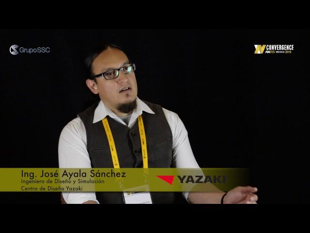 Ing. José Ayala, Yazaki - ANSYS Convergence 2016.Grupo SSC