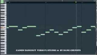 CANON ROCK DANGDUT Versi Fl Studio 10