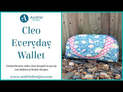 Cleo Everyday Wallet Trailer - Andrie Designs