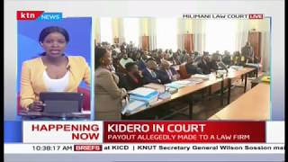 Former Nairobi Governor Evans Kidero in court over corruption allegations