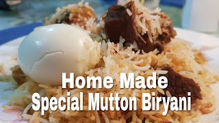 preview picture of video 'Easy Home Made Special Mutton Biryani Recipe || Cooked For My Parents'