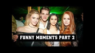 Riverdale Cast Funny & Cute Moments #2 😂❤ #LOWI