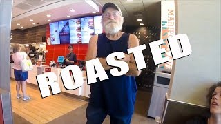 Old Man Gets Roasted by Biker | Crazy Angry People vs Riders