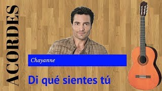 Tutorial - Di qué sientes tú - Chayanne