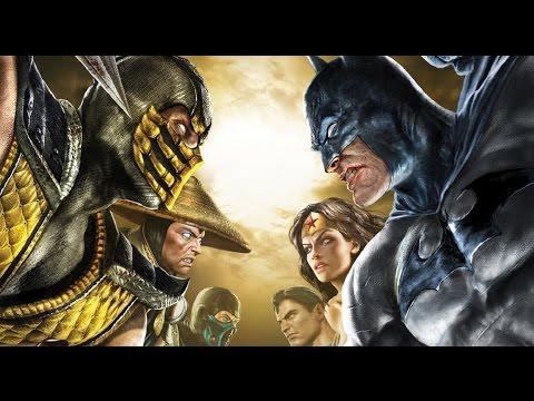 Mortal Kombat vs DC Universe All Cutscenes (Game Movie) 1080p HD
