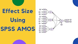 How to find the Effect Size using SPSS Amos?