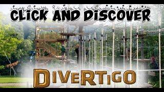 Divertigo Bromont - Aerial Course - Ziplines and Games