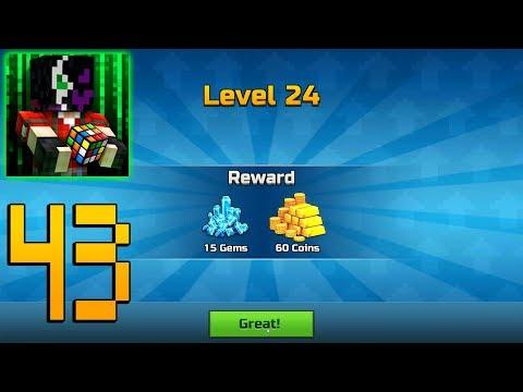 Pixel Gun 3D - Gameplay Walkthrough Part 43 - Level 24
