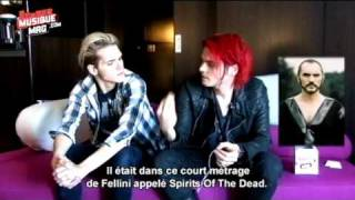 Gerard and Mikey Way Interview Danger Days