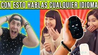 Con este aparato puedes hablar cualquier idioma //  Pongamoslo a prueba ft coreano vlogs