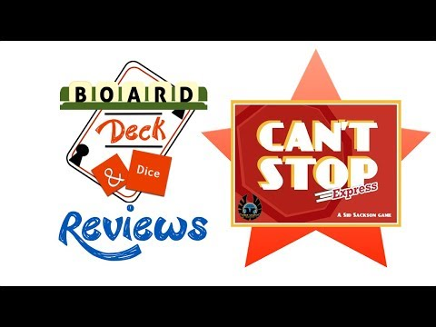 Board, Deck & Dice Review #140 - Can't Stop Express