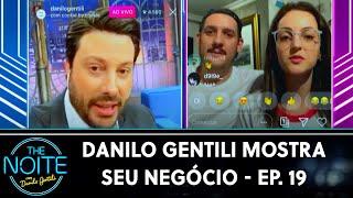 Danilo Gentili Mostra Seu Negócio - Ep. 19 | The Noite (18/11/20)