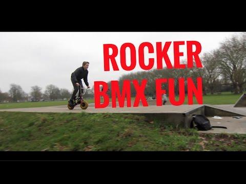 ROCKER BMX FUN - JESUS GREEN SKATEPARK - CAMBRIDGE, UK