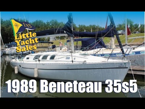 1989 Beneteau 35s5 Sailboat for sale at Little Yacht Sales, Kemah Texas