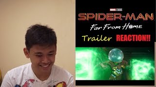 SPIDER MAN:Far From Home Official Trailer (REACTION!!!)