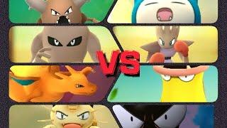 Hitmonlee  - (Pokémon) - Pokémon GO Gym Battles Level 7 Gym Hitmonchan Hitmonlee Meowth Gastly & more