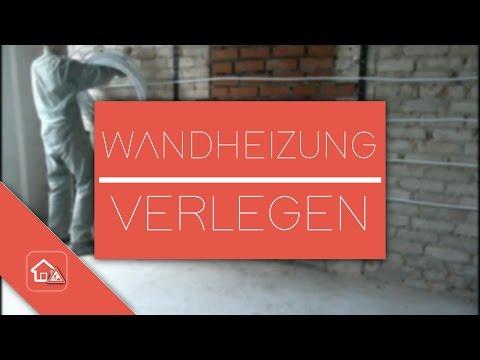 Wandheizung verlegen - [Teil 1] Heimwerker SPEZIAL
