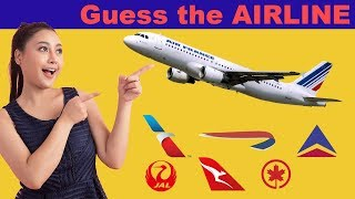 Are You A FREQUENT TRAVELER? Can You Guess The AIRLINE? |  MEMORY Challenge