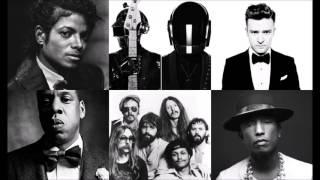 About Love Mix - Jackson vs Daft Punk & Pharrel vs Timberlake & Jay Z vs The Doobie Brothers