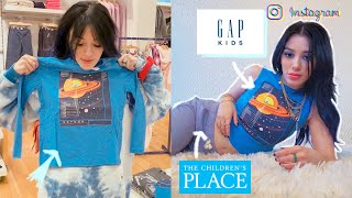 """styling kids clothes into """"insta baddie outfits"""" PRANK + EXPERIMENT"""