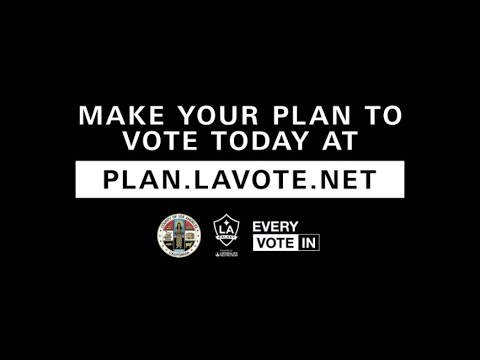 Join the LA Galaxy and register to vote to make your voice heard.