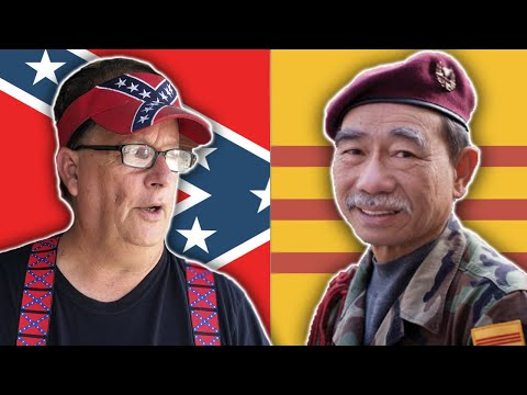 Southern Pride WORLDWIDE!? The WEIRD Link between Confederate SIMPS + S.Vietnamese Trump Supporters
