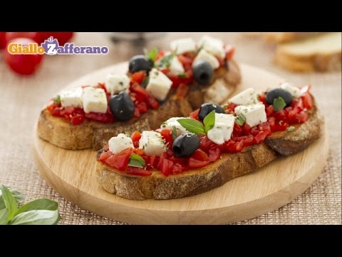 Bruschetta caprese – Italian recipe