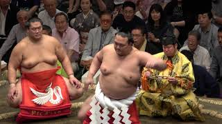 4K動画横綱土俵入り・稀勢の里234日ぶり平成30年9月場所初日
